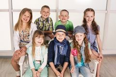 Portrait of kids Royalty Free Stock Photo
