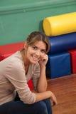 Portrait of a kindergarten teacher.  Royalty Free Stock Photography