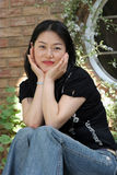 Portrait of a Korean woman Royalty Free Stock Images