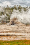 Portrait Landscape of Giant Geyser Royalty Free Stock Image