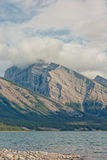 Portrait Landscape of Spray Lake. Royalty Free Stock Image