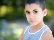 Portrait of a latin child Stock Photography