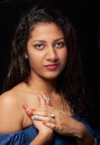 Portrait of latino girl Stock Image
