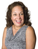 Portrait of an Latino woman smiling Stock Image
