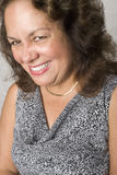 Portrait of an Latino woman smiling Royalty Free Stock Images