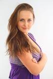 Portrait Latvian girl Stock Image