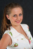 Portrait Latvian girl Stock Images