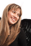 Portrait of a  laughing angel Royalty Free Stock Photo