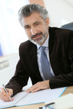 Portrait of lawyer in office Royalty Free Stock Image
