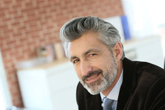 Portrait of a lawyer in office Royalty Free Stock Image