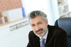 Portrait of lawyer in office Stock Photography