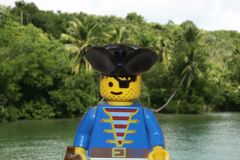 Lego pirate Royalty Free Stock Photo