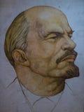 Portrait of Lenin Royalty Free Stock Photography