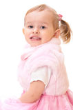 Portrait of little adorable girl Royalty Free Stock Photography