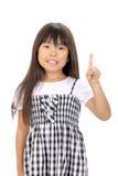 Portrait of little asian girl Stock Photography