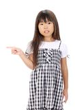 Portrait of little asian girl Stock Photo