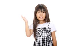 Portrait of little asian girl Stock Images