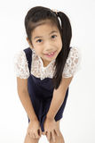Portrait of Little asian girl with smiles face Royalty Free Stock Photos