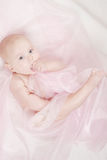 Portrait of a little baby Stock Photos