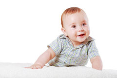 Portrait of little baby boy Stock Photo