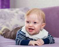 Portrait of little baby royalty free stock photography