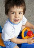 Portrait of little beautiful boy Stock Images