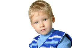 Portrait of the little boy Stock Photography