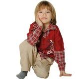 Portrait of the little boy Stock Photos
