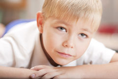 Portrait of a little boy Stock Images