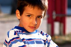 Portrait of little boy Royalty Free Stock Photo
