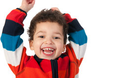 Portrait of a little boy Royalty Free Stock Photos