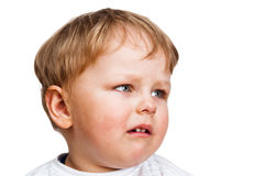 Portrait of the little boy Royalty Free Stock Images