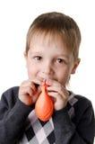 Portrait of a little boy Stock Images