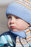 Portrait of the little boy Royalty Free Stock Photography