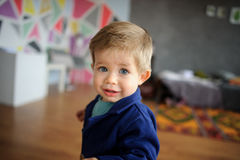 Portrait of little boy. Royalty Free Stock Photo
