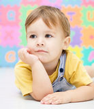 Portrait of a little boy Royalty Free Stock Photography