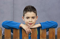 Portrait of little boy Stock Photography