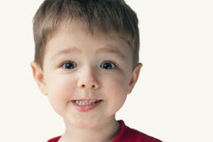 Portrait of little boy Royalty Free Stock Photos