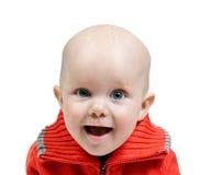 Portrait of little boy in the studio Stock Photo