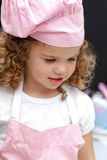Portrait of a little chef Stock Images