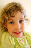 Portrait of the little child Stock Photography