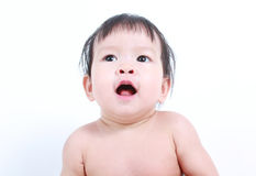 Portrait of little cute baby. Stock Images