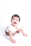 Portrait of little cute baby. Stock Image