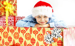 Portrait of little cute boy Royalty Free Stock Photography