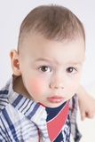 Portrait of Little Cute Child Stock Image