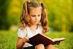 Portrait of little cute girl Stock Photos