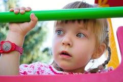 Portrait of a little girl. Portrait of a little cute girl Royalty Free Stock Image