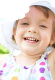 Portrait of a little girl. Portrait of a little cute girl Royalty Free Stock Images