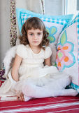 Portrait of little cute girl Stock Image