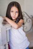 Portrait of Little cute girl Stock Images